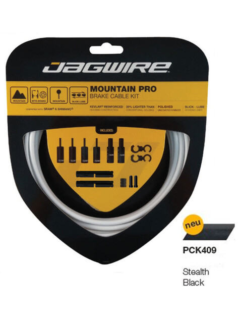Jagwire Mountain Pro Bremszugset stealth black